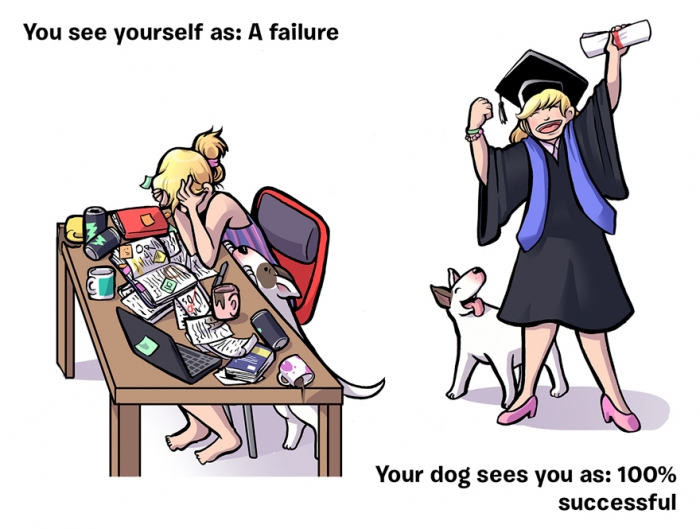How You See Yourself vs How Your Dog Sees You (10)