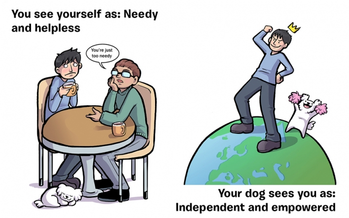 How You See Yourself vs How Your Dog Sees You (11)