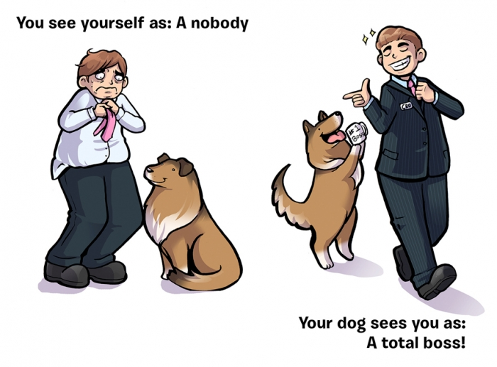 How You See Yourself vs How Your Dog Sees You (3)