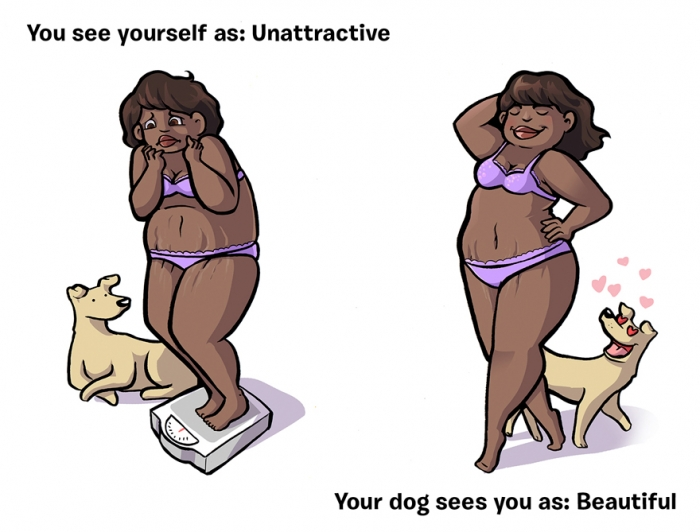 How You See Yourself vs How Your Dog Sees You (4)