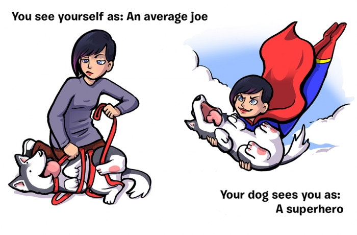 How You See Yourself vs How Your Dog Sees You (5)