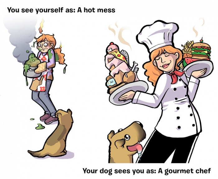 How You See Yourself vs How Your Dog Sees You (7)