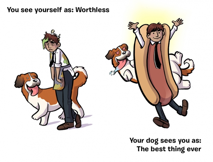 How You See Yourself vs How Your Dog Sees You (8)
