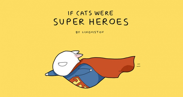 If Cats Were Superheroes (1)