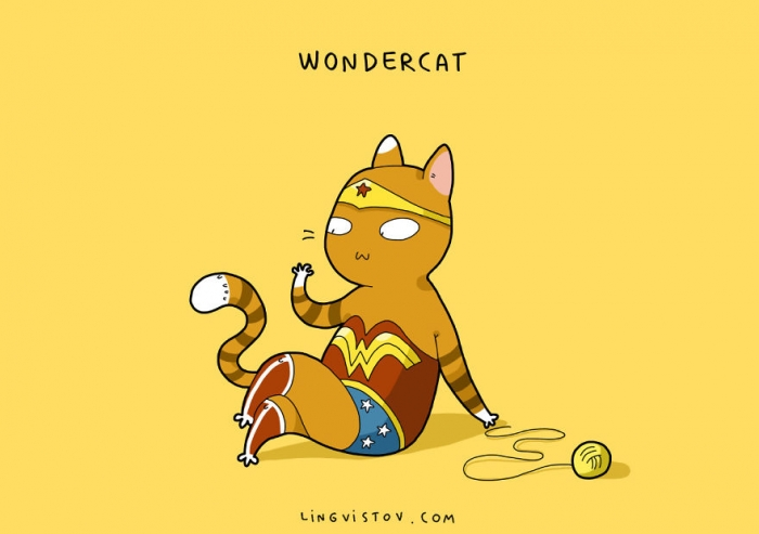 If Cats Were Superheroes (10)