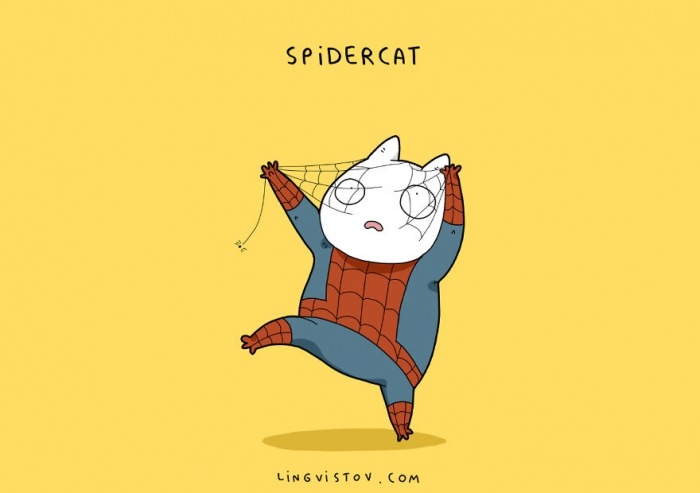 If Cats Were Superheroes (2)
