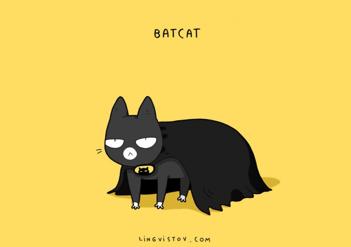 If Cats Were Superheroes (3)