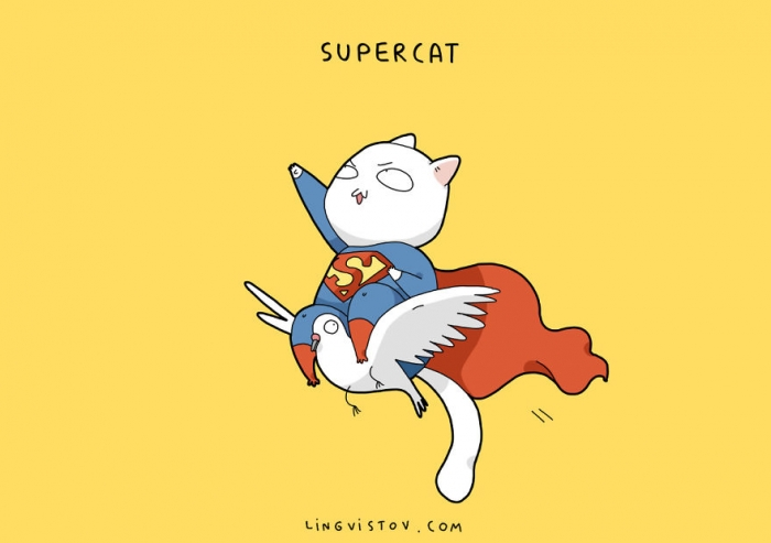 If Cats Were Superheroes (4)