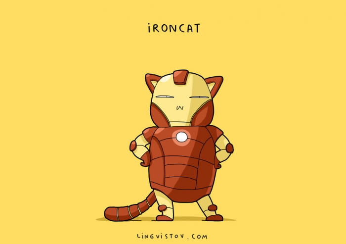 If Cats Were Superheroes (5)