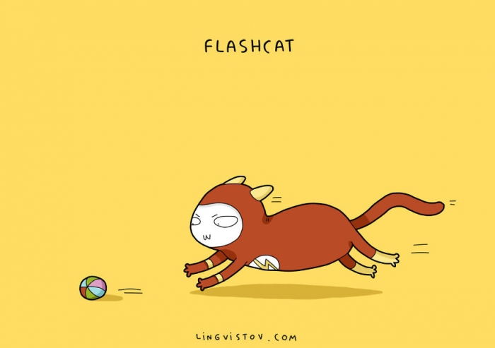 If Cats Were Superheroes (6)