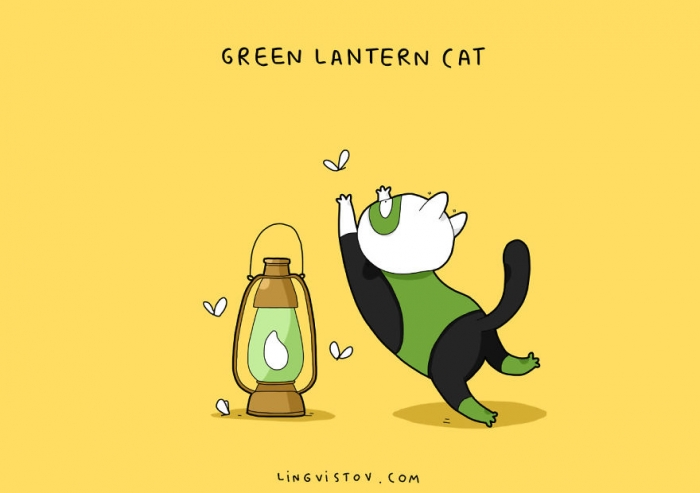 If Cats Were Superheroes (7)