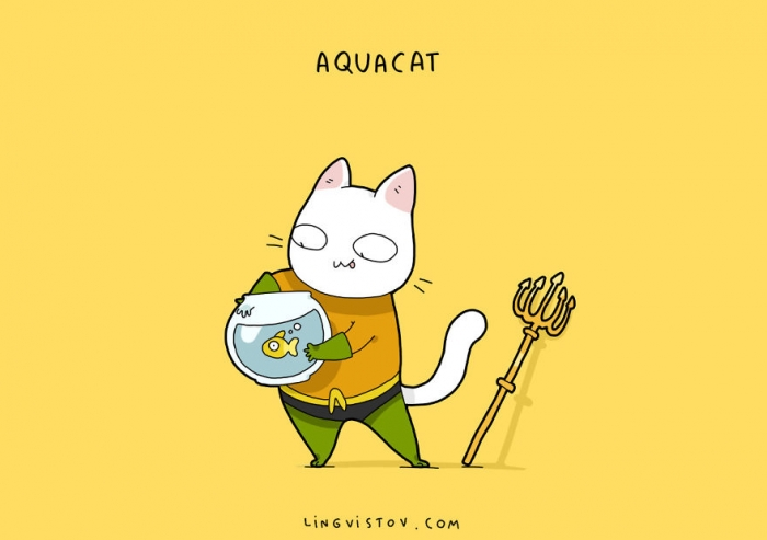 If Cats Were Superheroes (8)