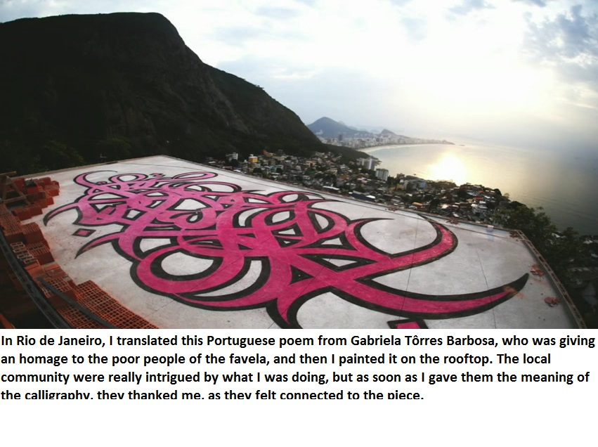 In Rio de Janeiro, I translated this Portuguese poem from Gabriela Tôrres Barbosa