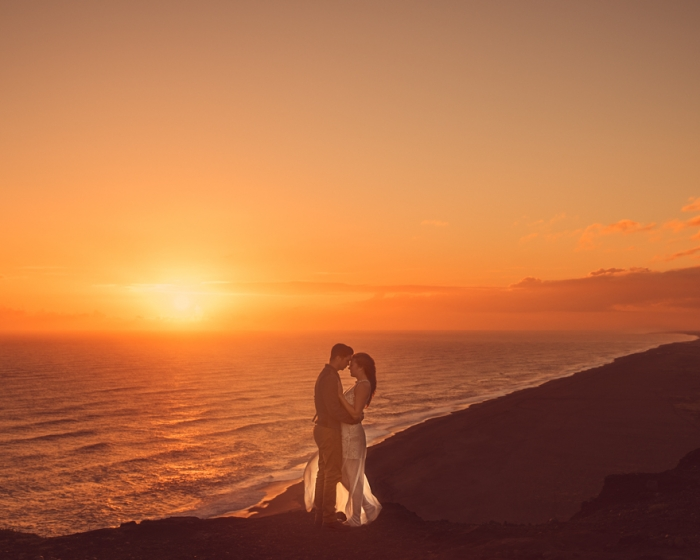 Jeremy and Rachelle got married in iceland.jpg romantic