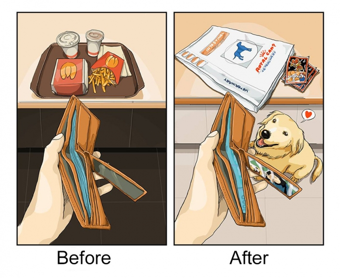 Life Before And After Getting A Dog (5)