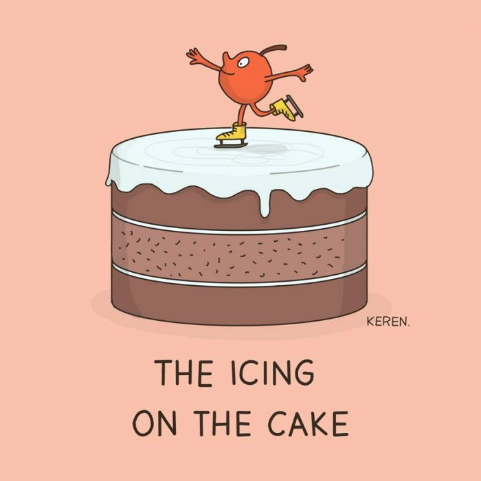 Icing In The Cake Meaning