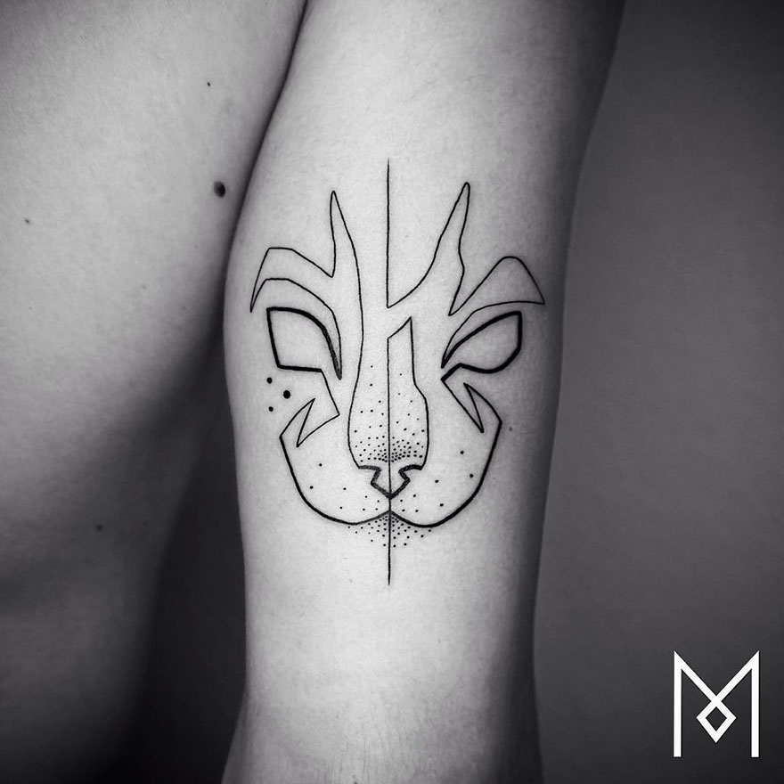 Minimalist Single Line Tattoos (5)