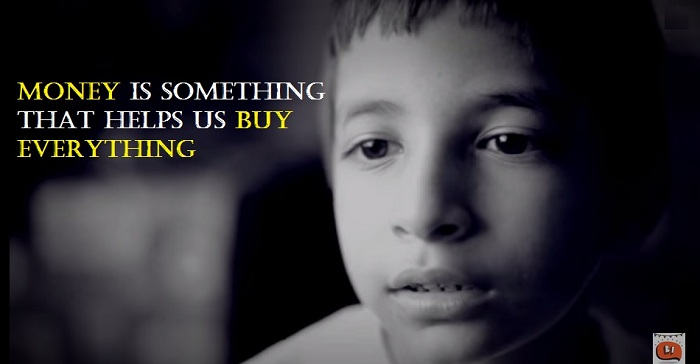 Money is something that helps us buy everything