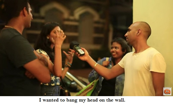 Mumbai On Hangovers bang head on the wall