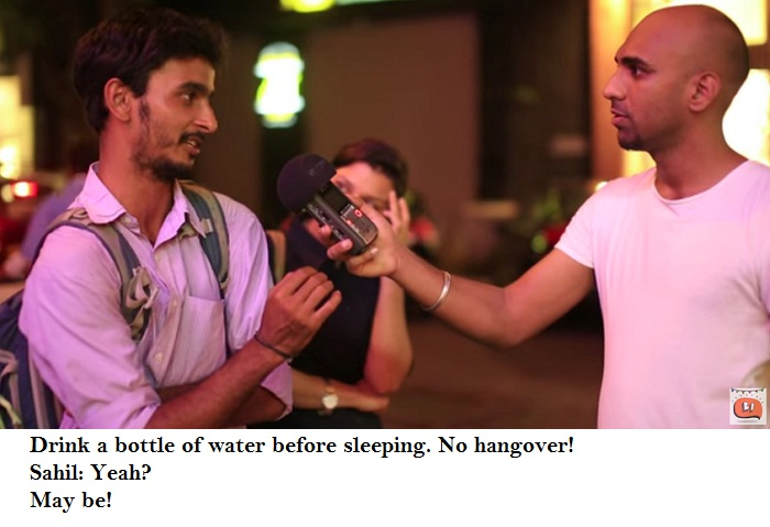 Mumbai On Hangovers - bottle of water