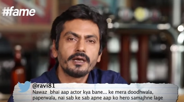 Nawazuddin Siddiqui Gets BAJAOED reads first tweet
