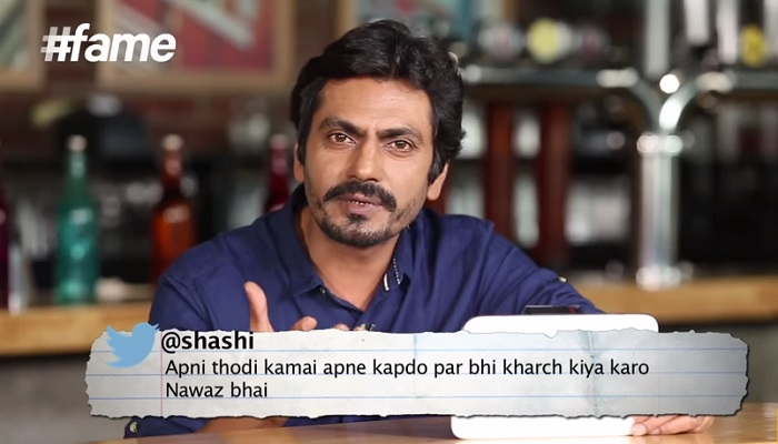 Nawazuddin Siddiqui Gets BAJAOED reads fourth tweet