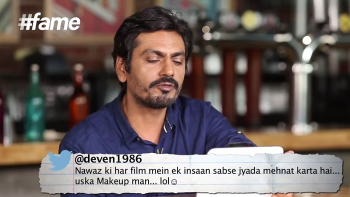 Nawazuddin Siddiqui Gets BAJAOED reads second tweet