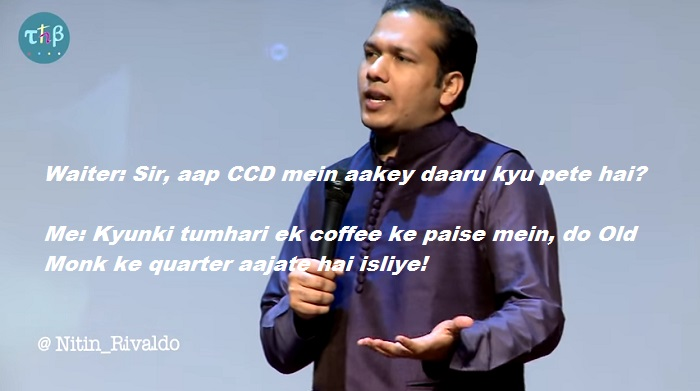 Nitin Gupta Rivaldo on CCD & Dating- daaru