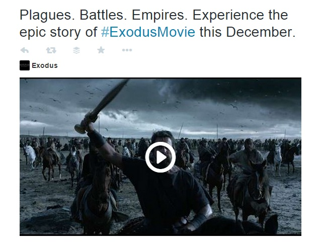 Plagues battles empires. Exodus