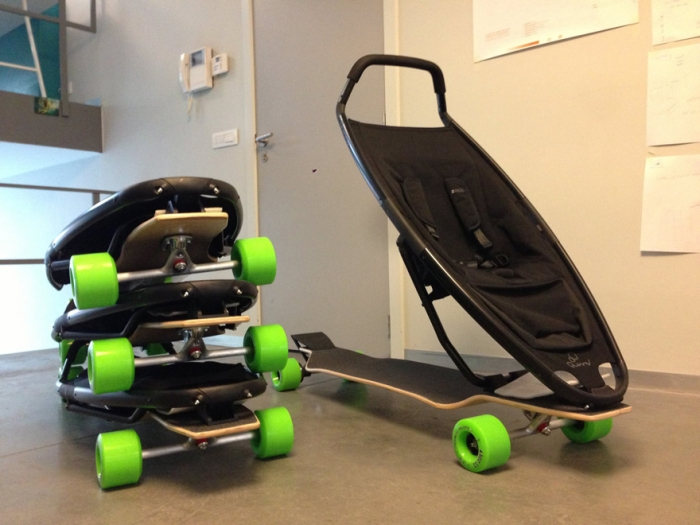 Quinny longboard babe stroller 3