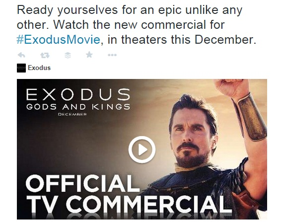 Ready yourself for an epic. Exodus
