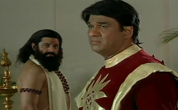 Shaktiman and mentor
