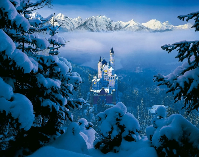 Sleeping Beauty – Neuschwanstein Castle, Bavaria, Germany 1