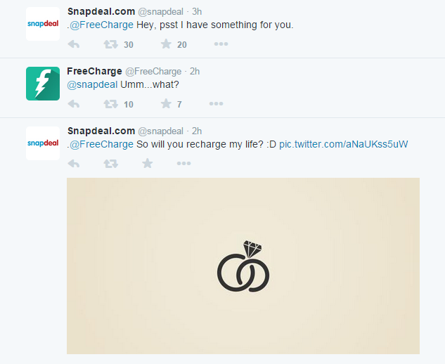 Snapdeal freecharge love