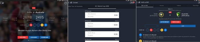 Star Sports Cricket World Cup