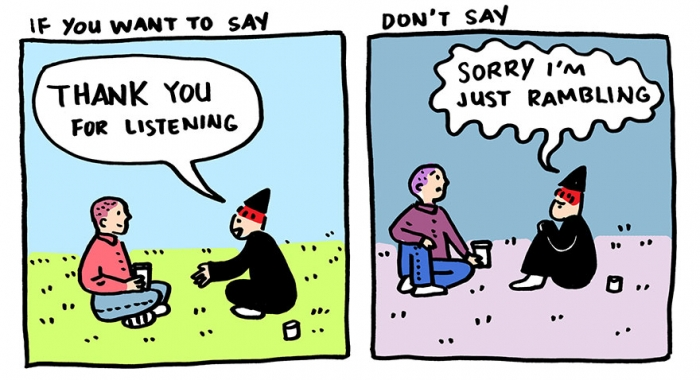 "Stop Saying ""Sorry"" And Say ""Thank You"" Instead (5)"