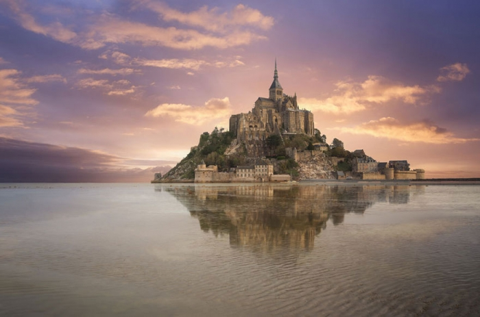 Tangled – Mont Saint-Michel, Normandy, France real