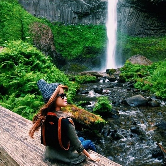 That old saying don't go chasing waterfalls