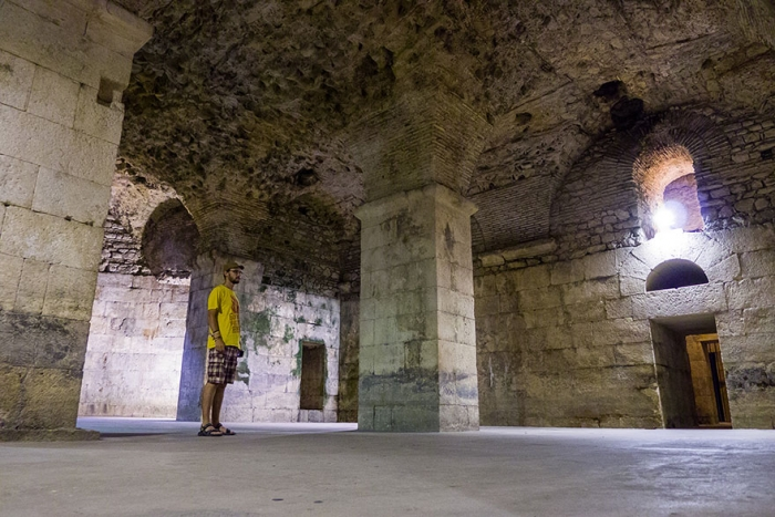 The Basement of Diocletian's Palace (Split) – Where Dragons are Kept original