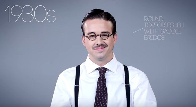 Funny Video Shows The Fashionable Evolution Of Sunglasses