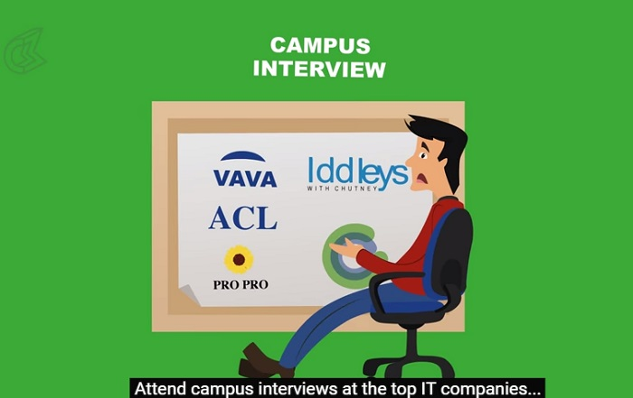 The Lifecycle Of A Software Engineer - attend campus interviews