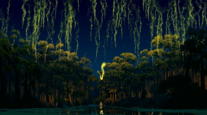 The Princess And The Frog – Louisiana bayous, USA real
