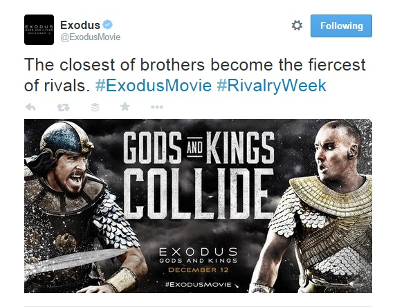 The closest of brothers become the fiercest of rivals. Exodus
