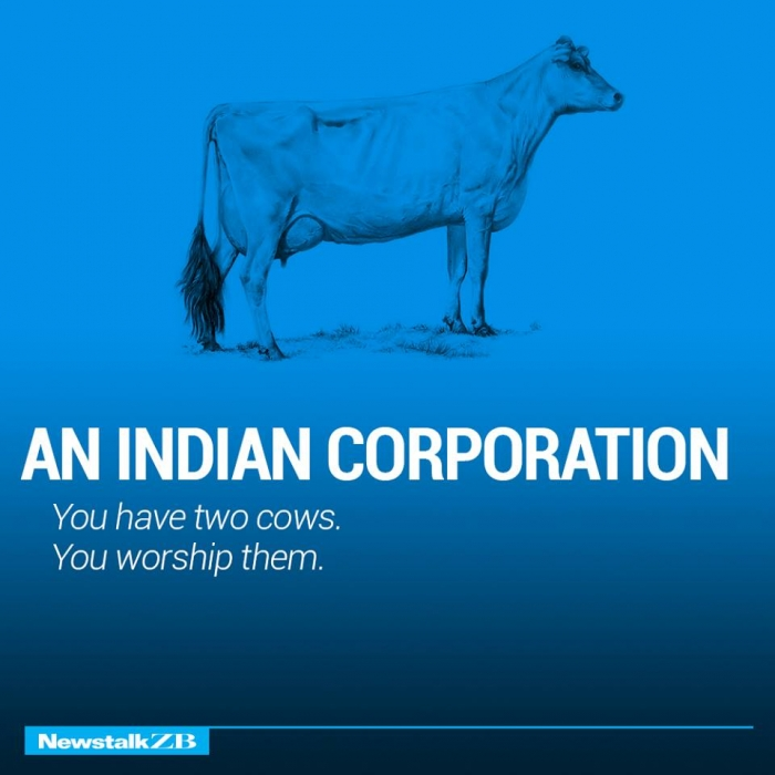 The world economy explained with just two cows. (14)