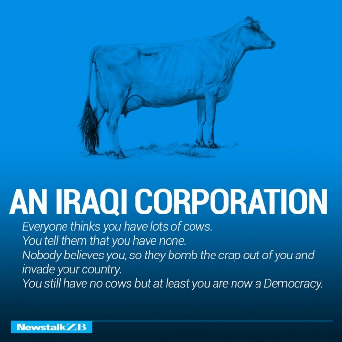 The world economy explained with just two cows. (15)