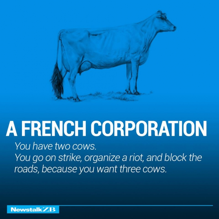 The world economy explained with just two cows. (8)