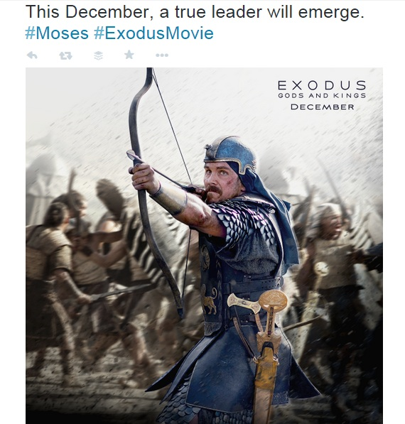 This December a true leader will emerge. Moses. Exodus