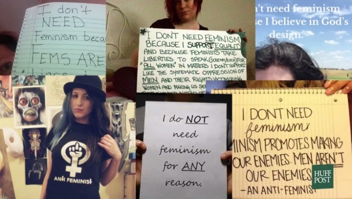 To everyone saying, I'm not a feminist, this is what you actually mean when you say it (2)