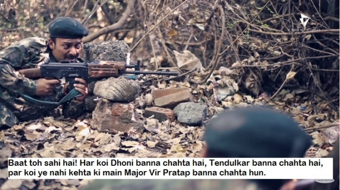Tolerance Reply from Soldiers to Intolerant Fools - majr vir pratap