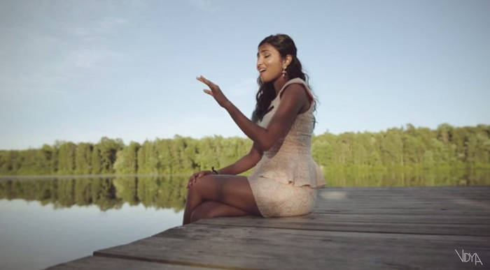 Vidya Vox still from the video